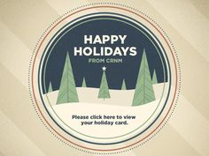 Happy Holidays from CRNM