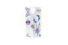 Carcaza Mariposa Corona Violetas S4 mini — HighTeck Store