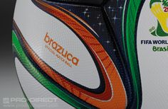 New Brazuca ball! What a great looking edition to the World Cup ball collection! #pdsmostwanted