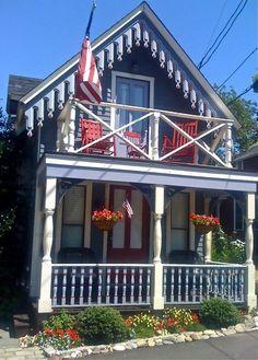Oak Bluffs eclectic exterior