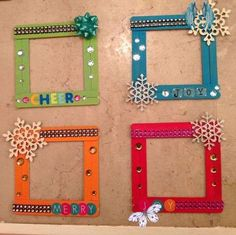 100+ Popsicle Sticks Craft Ideas - As Told By Mom  <br> Popsicles are the most easily available craft item which if you store every time after having a popsicle you may not even have to buy them from a craft store. And here I have curated many ideas of putting them to some creative use. Kids Crafts, Creative Crafts, Preschool Crafts, Diy And Crafts, Craft Projects, Craft Ideas, Diy Ideas, Simple Crafts, Creative Ideas For Kids
