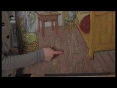 Research in progress: Discoloration of Van Gogh's 'Bedroom' - YouTube