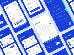 Air Tickets interface by yumenglati for Top Pick Studio on Dribbble Ui Design Mobile, App Ui Design, Interface Design, Layout Design, Web Design, Web Layout, Flat Design, User Interface, Ticket Design