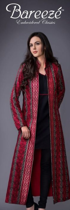 Here view Winter bareeze collection and all winter bareeze online dresses designs