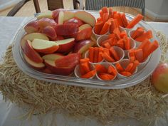 horse party food ideas | ... horses love apples and carrots