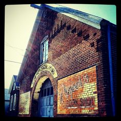 One of the many old buildings with character on 8th street where I grew up...