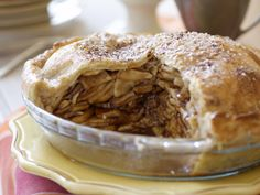 The Ultimate Caramel Apple Pie from FoodNetwork.com