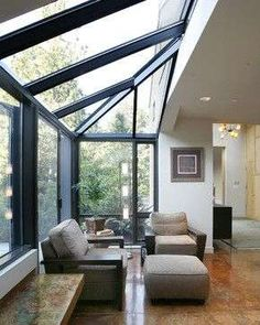 To Build The Perfect Glass Extension? How To Build The Perfect Glass Extension?How To Build The Perfect Glass Extension? Extension Veranda, House Extension Design, Glass Extension, House Design, Conservatory Extension, Small Conservatory, Small Sunroom, Conservatory Design, Garden Room Extensions