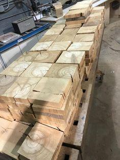 End Grain Flooring, Wood Block Flooring, Wood Cladding, Autumn Decorating, Wood Panel Walls, Concrete Patio, Wide Plank, Wood Slab, Coastal Homes