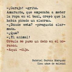 Gabo... 100  Años de soledad