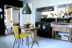 A colorful home in France {I could live here series}