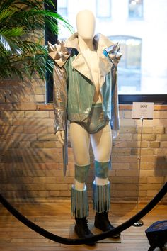 """Costume from """"The Masked Saint"""" at CAFTCAD Celebrates Costume, September 9th, 2014"""