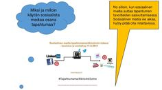 #TapahtumamarkkinointiSome  by Helena Vallo via slideshare