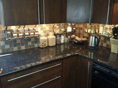 More kitchen storage without drilling into tile backsplash