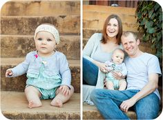 6 month baby photos outdoors | Have a look at this beautiful family's maternity photos here:
