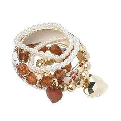 Gorgeous Pearls and Bead Bangles