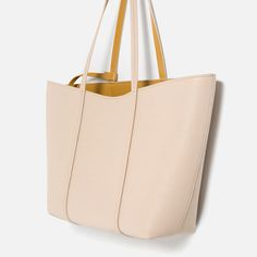 REVERSIBLE TOTE from Zara Perfect Summer Tote.