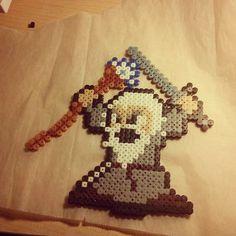 LOTR Gandalf hama beads by tukita83