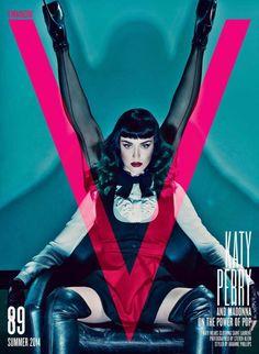 Publication: V Magazine #89 Summer 2014 Model: Katy Perry, Madonna Photographer: Steven Klein Fashion Editor: Arianne Phillips Hair: Shon, Andy Lecompte Make-up: Sammy Mourabit, Gina Brooke
