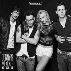 Jenny and the Mexicats en Black Box Tijuana  Te gustan?  info http://tjev.mx/1O7s5iG #Conciertos más info en http://tjev.mx/9jUxqh
