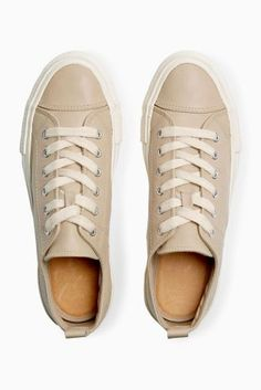 Buy Mink Leather Low Tops from the Next UK online shop