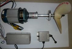 2 KW / 4 HP high torque electric inboard motor - Click Image to Close