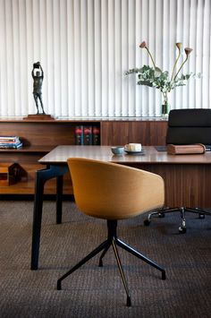 Design ideas from a Mad Men-style office. Photography by Brigid Arnott.