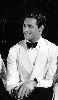 Cary Grant during filming of Enter Madame (1935).