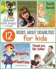 Start some important conversations with these great children's books about disabilities.
