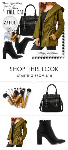 """""""ZAFUL  7"""" by melissa995 ❤ liked on Polyvore featuring Hooded Trench and Marc Jacobs"""