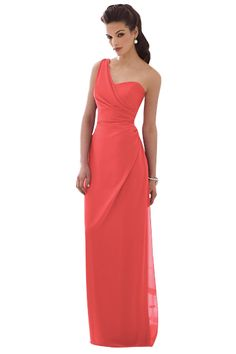 Dress by After Six Bridesmaids. I love this color for bridesmaids dresses. and it is something they can wear again and again.