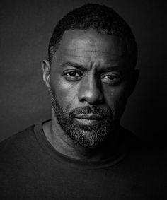 Idris Elba photographed by Trevor Leighton