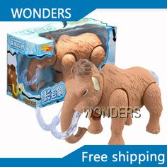 Cheap toys electric, Buy Quality electric animal directly from China mammoth model Suppliers: Simulation animal dolls toys electric mammoth elephant walking simulation animal model Doll Toys, Dolls, Walking, Electronic Toys, Dinosaur Stuffed Animal, Elephant, Electronics, Products, Toys