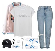 """""""Sin título #4130"""" by mdmsb on Polyvore featuring moda, MANGO, Topshop, adidas, Charlotte Russe y Forever 21"""