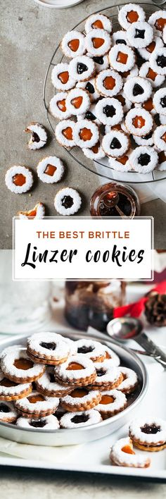 The best, brittle linzer cookies we have ever tasted and made, filled with the yummiest homemade marmalade. Overall one of the best cookies. Brownie Recipes, Cookie Recipes, Dessert Recipes, Desserts, Homemade Cookies, Yummy Cookies, Yummy Treats, Linzer Cookies, Holiday Treats
