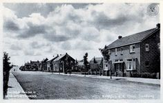 Tiendweg richting de Lekdijk - jaar 1935