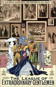 The League of Extraordinary Gentlemen by Alan Moore | Graphic Novels 101: A Beginners Guide