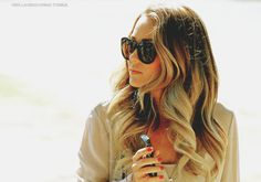 Love the Ombre Love the curls!  Google Image Result for http://4.bp.blogspot.com/-8nkHFPuYkcw/T3trPj_htiI/AAAAAAAACgs/qqFQ75eSMjI/s1600/lauren%2Bconrad-%2Bcasual%2Boutfit-%2Bcandid-%2Bout%2Band%2Babout-%2Bombre%2Bhair-%2Bsunglasses-%2Bcream%2Bbeige%2Bblouse-%2Bred%2Bnails-%2B2012.jpg