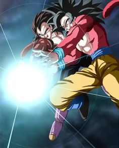 Goku SS4 - Vegeta SS4