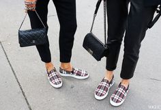 Celine shoes and Chanel bags