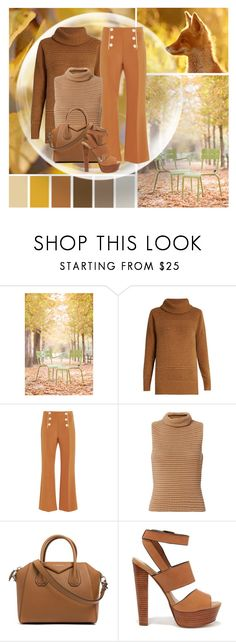 """Paris In the Fall"" by mmmartha ❤ liked on Polyvore featuring WALL, Diane Von Furstenberg, Clover Canyon, Exclusive for Intermix, Givenchy and Steve Madden"