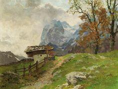 Edward H. Compton-Berglandschaft