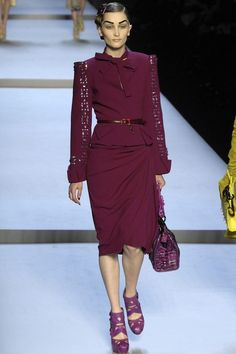 Christian Dior  #VogueRussia #readytowear #rtw #fallwinter2007 #ChristianDior #VogueCollections