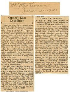 Some private information in addition to old newspaper clippings. Several Official Reports on the Battlefieid. George Custer, Battle Of Little Bighorn, Old Newspaper, Native American History, Native Americans, Wild West, Historical Photos, Troops, Maps