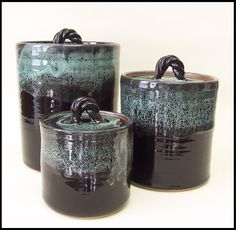 pottery canister sets - Google Search