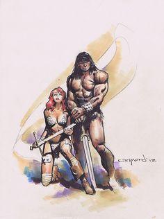 Phrrmp's Phantasies | cantstopthinkingcomics: Red Sonja and Conan the...