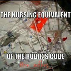 The nurses equivalent of Rubiks Cube