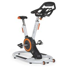 EVO IX Fitness Indoor Bike with Sway Frame and Orb Gear WhiteOrange -- You can find out more details at the link of the image.(This is an Amazon affiliate link and I receive a commission for the sales)