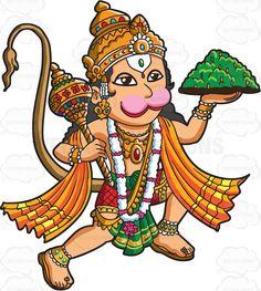 The Hindu God Hanuman Cartoon Eyes Drawing, Bal Hanuman, Hanuman Images, Lord Ganesha Paintings, Ganesh Statue, Hanuman Wallpaper, Hindu Culture, India Art, Handprint Art