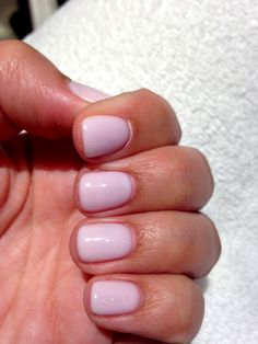 "Opi Gel ""don't burst my bubble'- love this polish!"